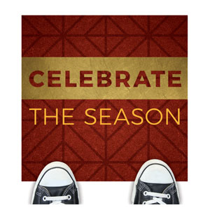 Celebrate The Season Advent Floor Stickers