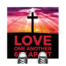 Hope Life Cross Love One Another