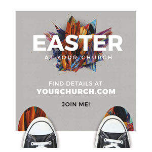 CMU Easter Invite 2021 Grey Floor Stickers