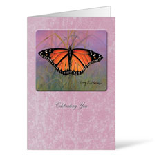 Monarch Birthday Greeting Card