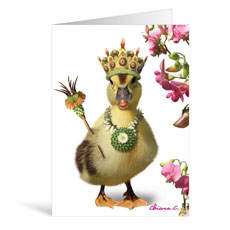 Duck Birthday Greeting Card