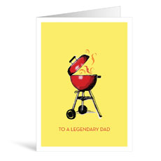 Grill Birthday Greeting Card