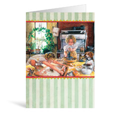 Cooking Birthday Greeting Card