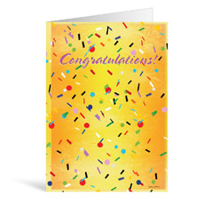 Confetti Greeting Card