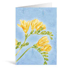 Buttercups Praying Greeting Card