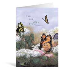 Butterflies Encouragement Greeting Card