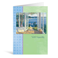 Ocean Sympathy Greeting Card