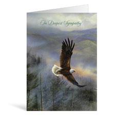 Eagle Sympathy Greeting Card
