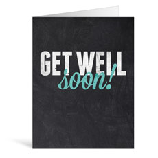 Slate Get Well Greeting Card