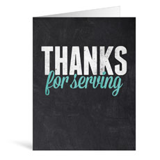 Slate Serving Greeting Card