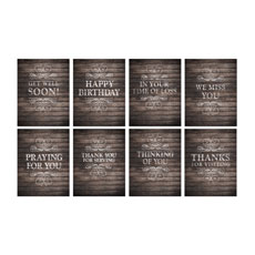 Rustic Charm Greeting Card Multi-Pack Greeting Card