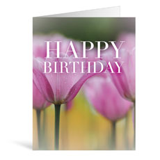 Nature Happy Birthday Greeting Card