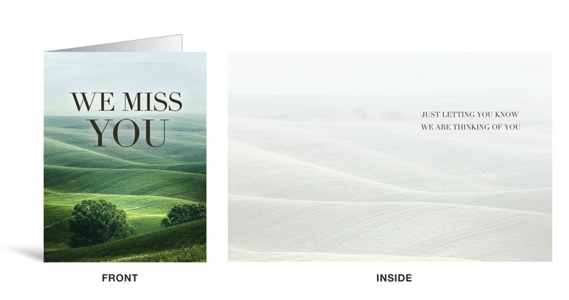 Nature miss you greeting card church greeting cards outreach nature miss you greeting card church greeting cards outreach marketing m4hsunfo
