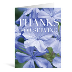 Nature Serving Greeting Card