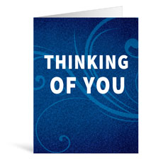 Flourish Thinking Greeting Card