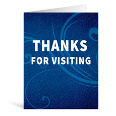 Flourish Visiting Greeting Card