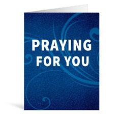 Flourish Praying Greeting Card