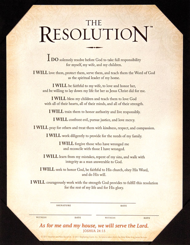 Resolution Certificate Print