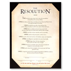 Resolution Certificate Accessory