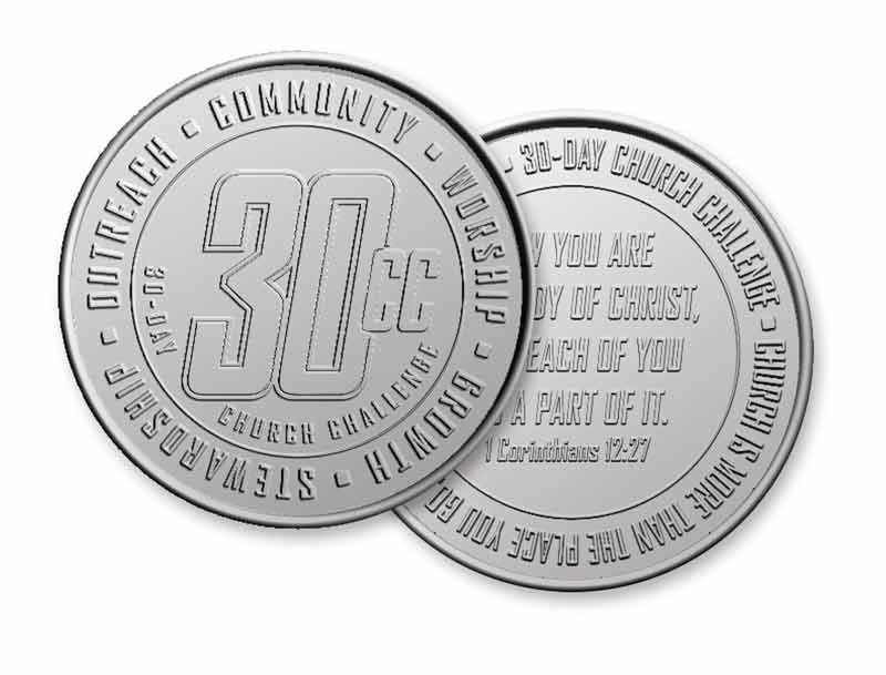 30 CC Coin - Church Other - Outreach Marketing