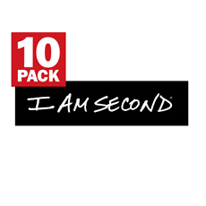 I Am Second Sticker