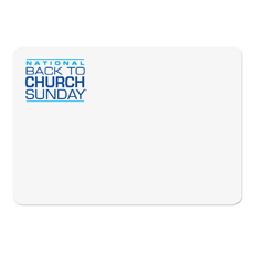Back To Church Logo Accessory