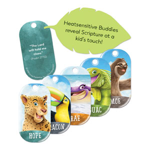Shipwrecked Bible Memory Buddies, Pack of 25 SpecialtyItems