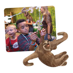 Shipwrecked Imagination Station Talk-Starter Sloths, pack of 30 SpecialtyItems
