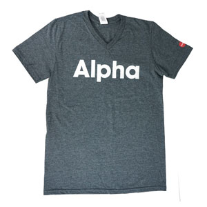 Alpha V-neck T-shirt Medium Alpha Products