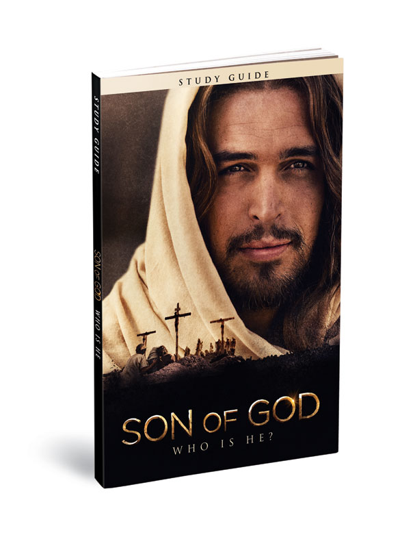 Small Groups, Easter, Son of God: Who is He Study Guide-single