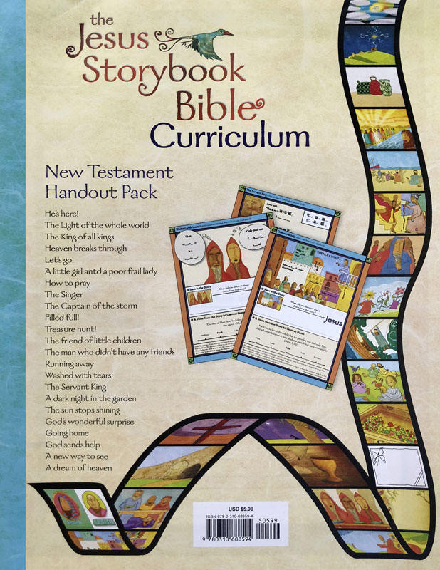 Other, Children's Ministry, Jesus Storybook Bible New Testament Handout pack