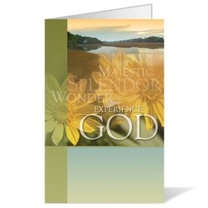 Experience God Bulletin