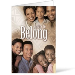Place to Belong - AFA  8.5 x 11 Bulletins 8.5 x 11