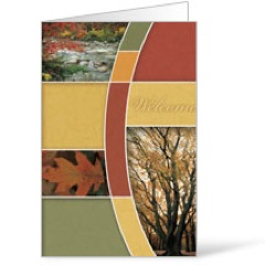 Fall Trees 8.5 x 11 Bulletins 8.5 x 11