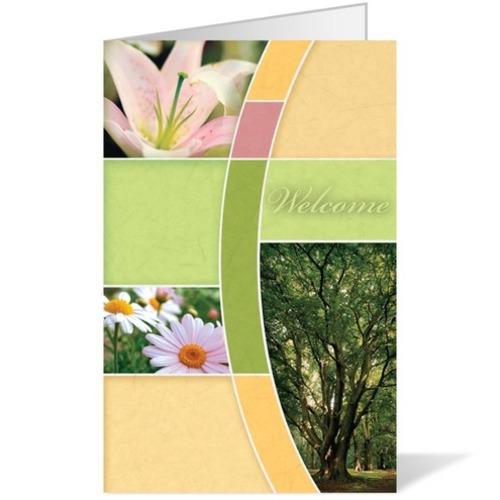spring church bulletin covers