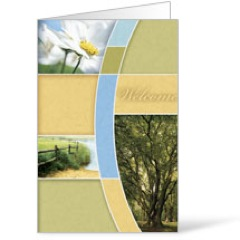 Summer Trees 8.5 x 11 Bulletins 8.5 x 11
