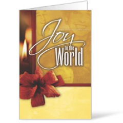 Joy to the World Bulletin