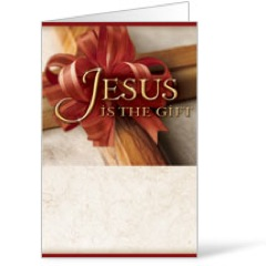 Jesus is the Gift Bulletin