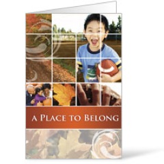 Belong Fall  8.5 x 11 Bulletins 8.5 x 11