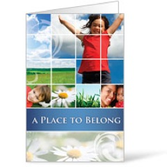 Belong Summer 8.5 x 11 Bulletins 8.5 x 11