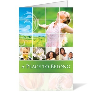 Belong Spring Bulletins 8.5 x 11