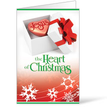 Jesus Heart Of Christmas Bulletin