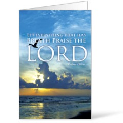 Breath Praise Lord 8.5 x 11 Bulletins 8.5 x 11