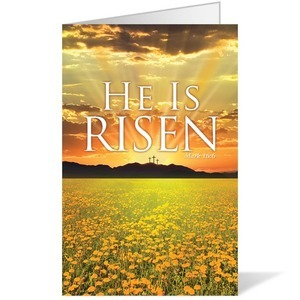 He is Risen Banner - Church Banners - Outreach Marketing
