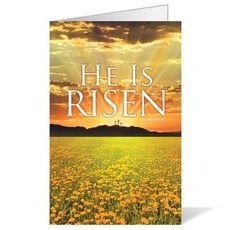 He is Risen Bulletin