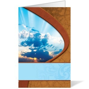 Sunrise Clouds - 8.5 x 11 Bulletins 8.5 x 11