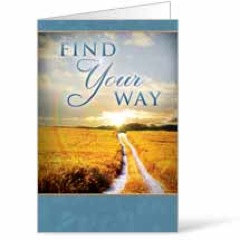 Find Your Way Field  8.5 x 11 Bulletins 8.5 x 11