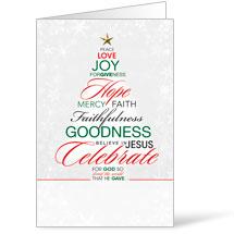 Christmas Word Tree Bulletin