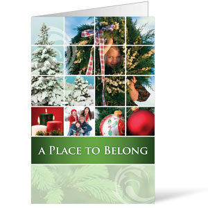 Belong Wreath  8.5 x 11 Bulletins 8.5 x 11