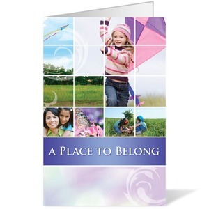 Belong Kite  8.5 x 11 Bulletins 8.5 x 11
